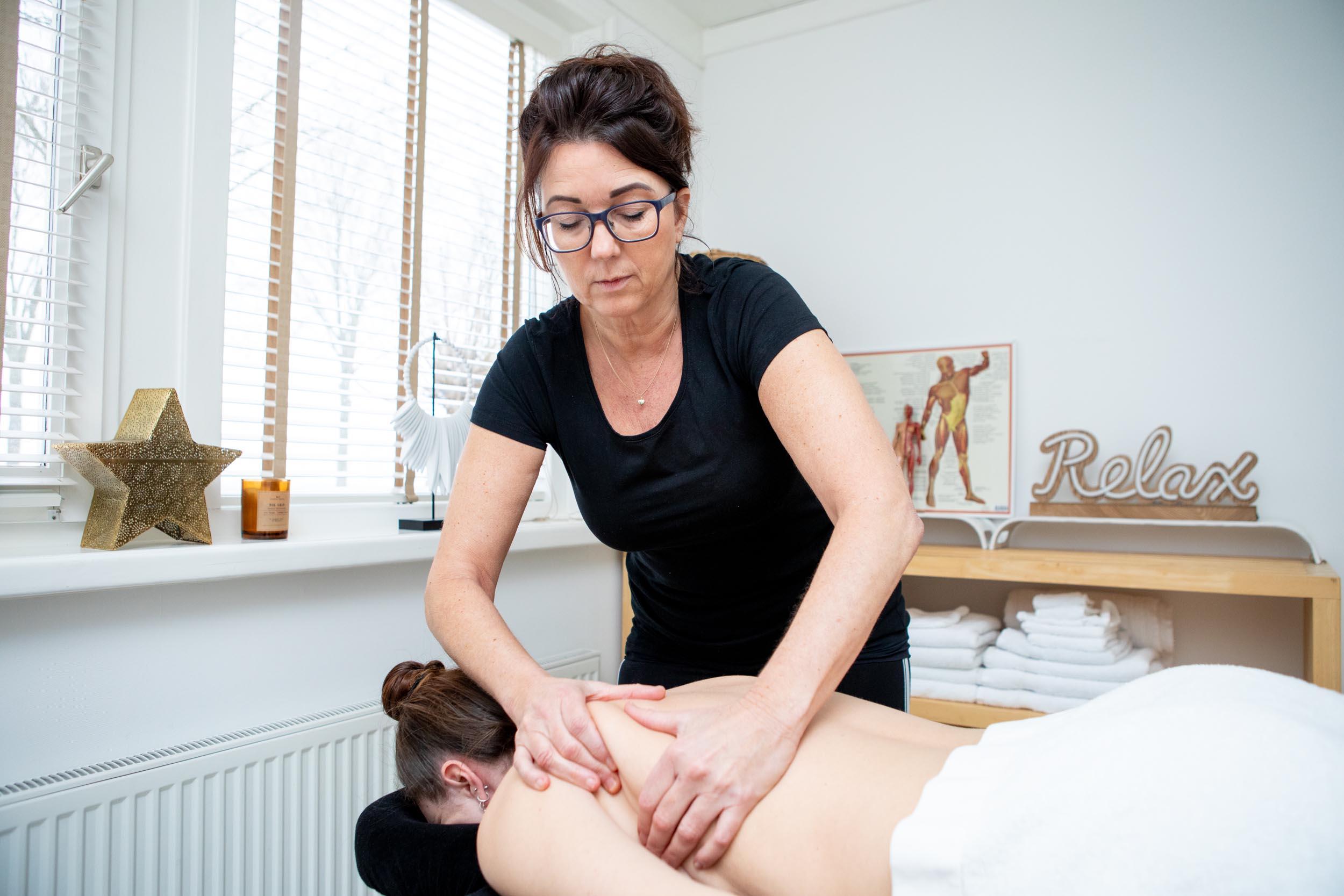 Klassieke massage / sportmassage